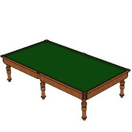 All Table Sports Slate Riley England Aristocrat Snooker Table 12ft