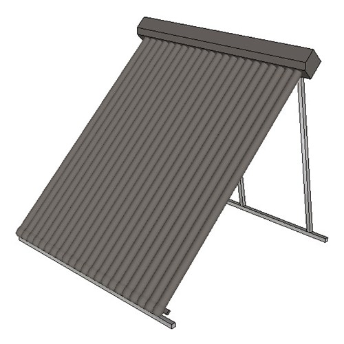 Apricus Roof Collector 22 Tube Tilt