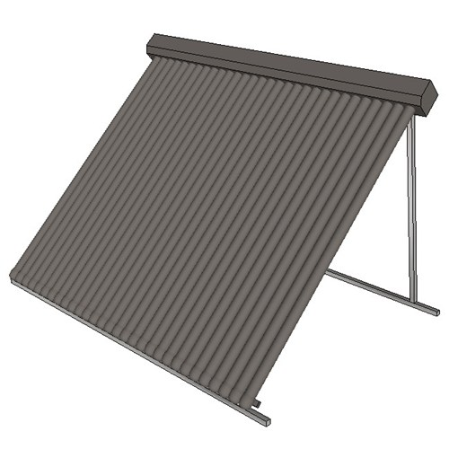 Apricus Roof Collector 30 Tube Tilt