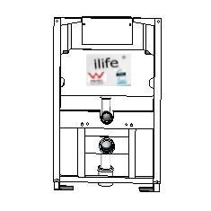ilife Undercounter Framed Cistern