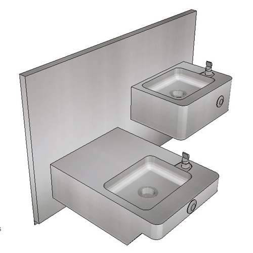 Britex Drinking Fountain Double