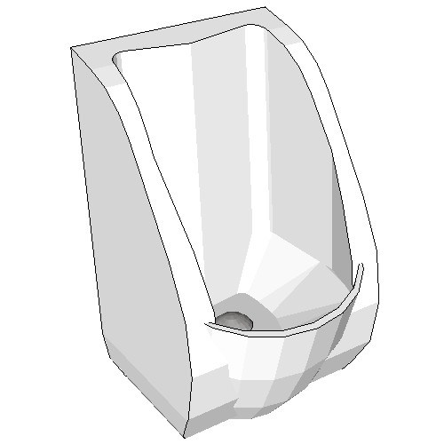 Britex Arid Waterless Urinal Pod (Arid Urinal)