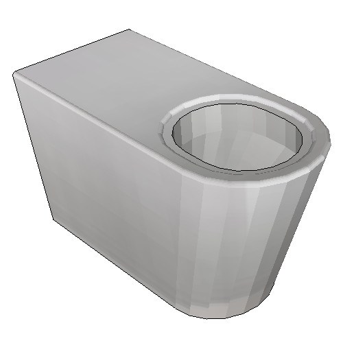 Britex Grandeur Disabled Pan (P Trap)