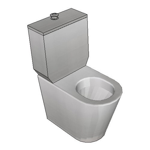 Britex Disabled Toilet Suite (P Trap Centurion Ambulant Pan)