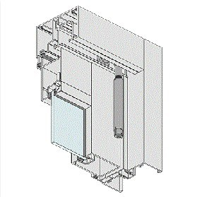 AWS Window Series 411 Bi-Fold Door BFD2-3
