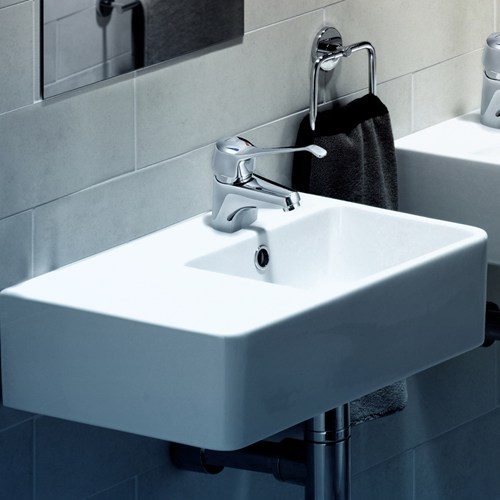 Caroma 20cube 20extension 20lh 20wall 20basin.