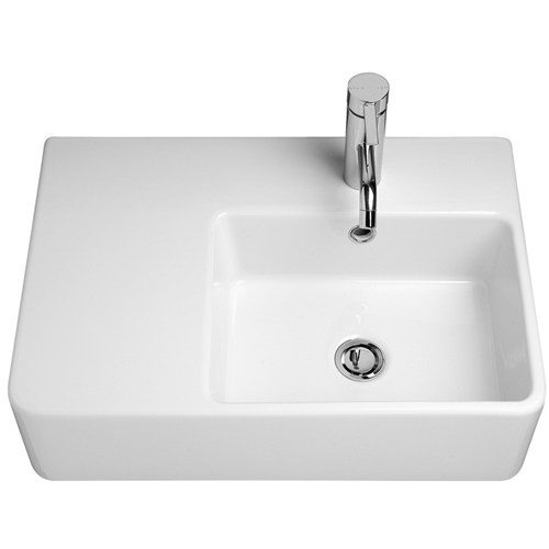 Caroma Cube Extension Wall Basin LH