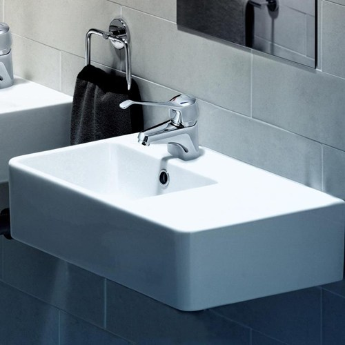 Caroma 20cube 20extension 20rh 20wall 20basin.