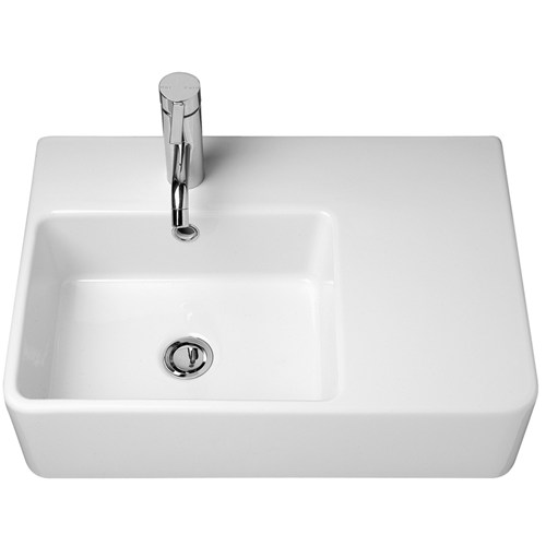 Caroma Cube Extension Wall Basin RH