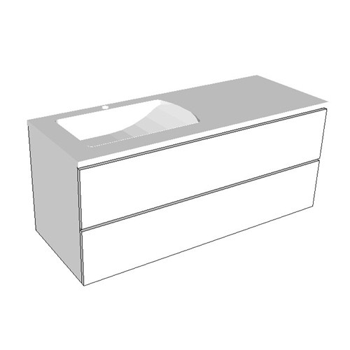 Rifco Platinum 1200 Double Drawer