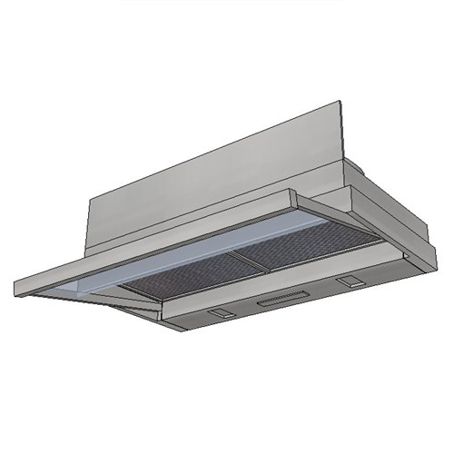 Kleenmaid Slide Out Rangehood 60cm