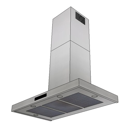Kleenmaid Wall Mounted Rangehood 90cm CR