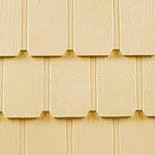 Weathertex wall shingles.