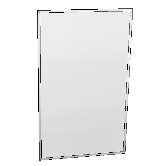 Britex Channel Frame Mirror (460 x 760)