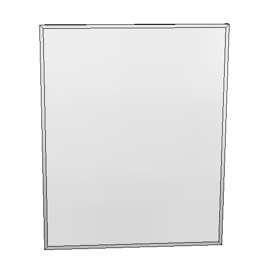 Britex Channel Frame Mirror (610 x 760)