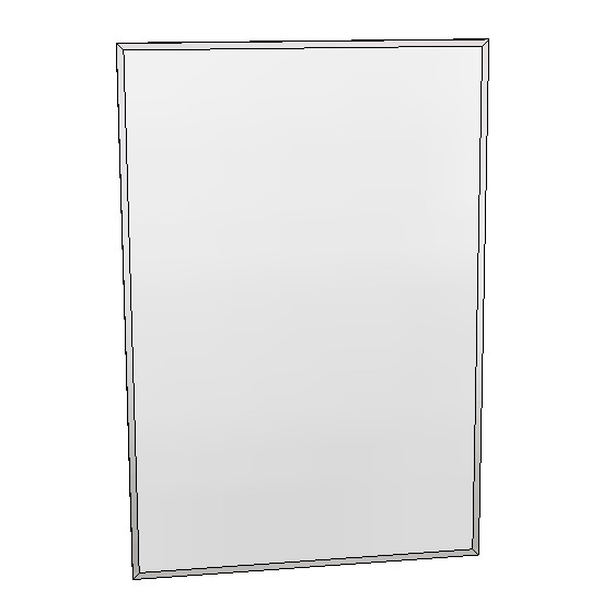 Britex Channel Frame Mirror (610 x 910)