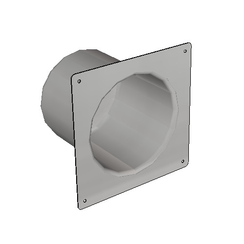Britex Security Toilet Roll Holder (Front Fixed)