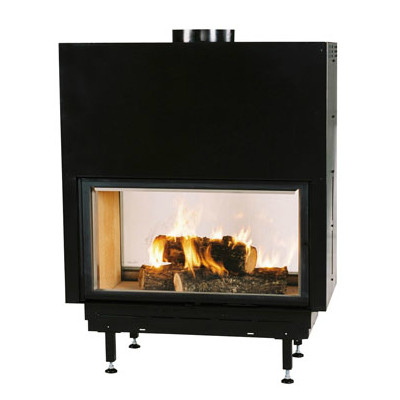 Chazelles Fireplaces DF1200 Double Sided Fireplace