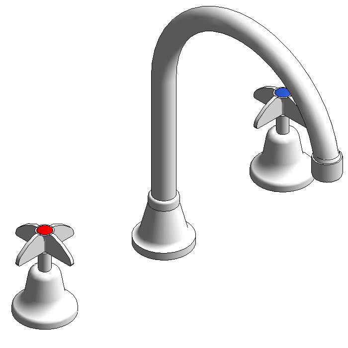 Galvin Vandal Resistant Jumper Valve Hob Sink Set