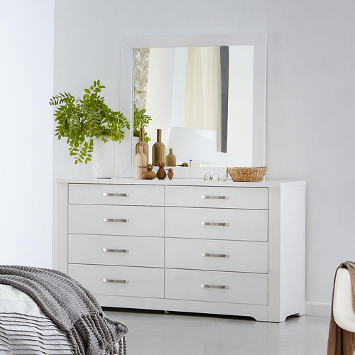 Forty 20winks 20alexa 20dresser 208 20drawer 20with 20mirror.