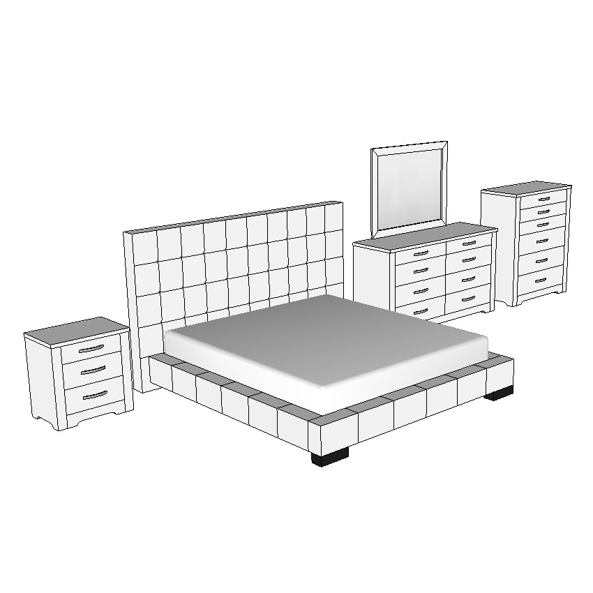 Forty Winks Alexa King Bed Suite Set
