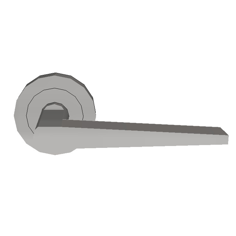 Parisi Bastone Lever Door Handle