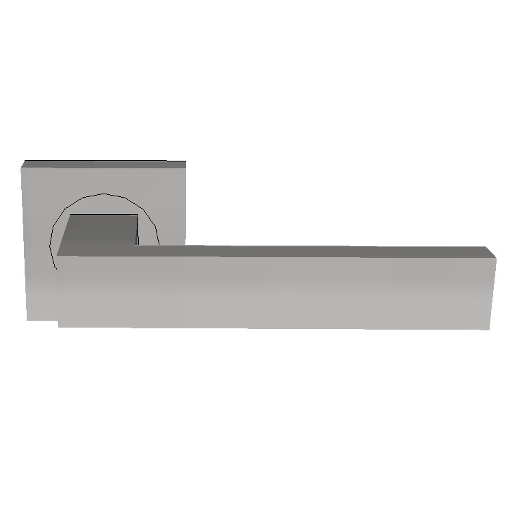 Parisi Quadro Lever Door Handle