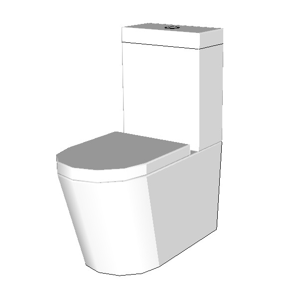 Azzurra Cal Wall Face Toilet Suite