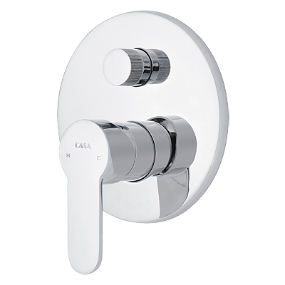 Azzurra 20isis 20diverter 20shower 20mixer 20%28round%291