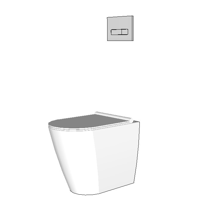 Rogerseller C Series C52 Floor Mount Toilet