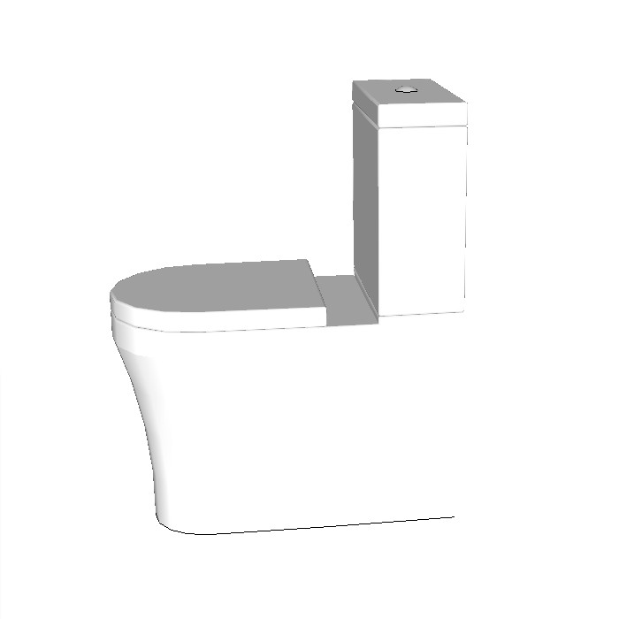 Studio Bagno Q+ Comfort Suite (Back To Wall)