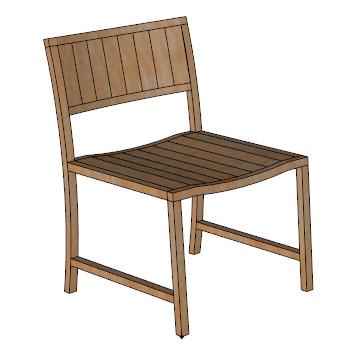 New york side chair skp