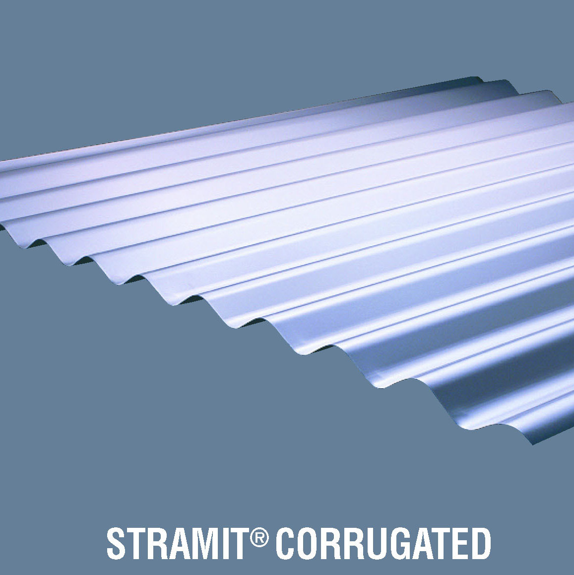 Stramit corrugated roof wallcladding r