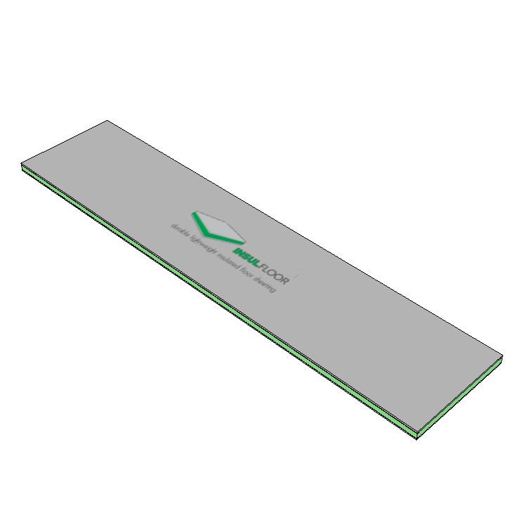 EcoBuild Solutions InsulFloor Panel 2400x600