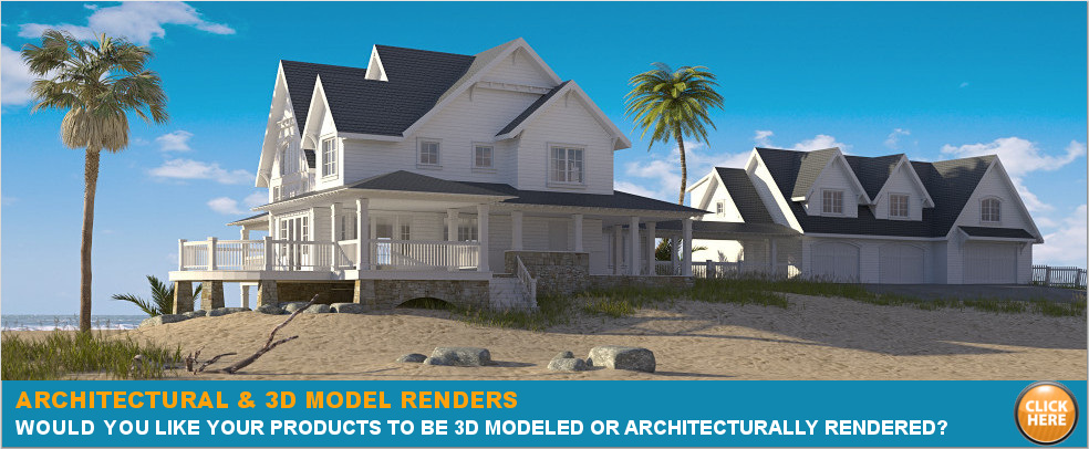 Original.architecturally render 3d model