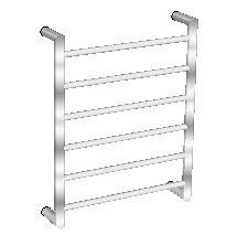 Avenir Heated Towel Ladder TLH1 60x48