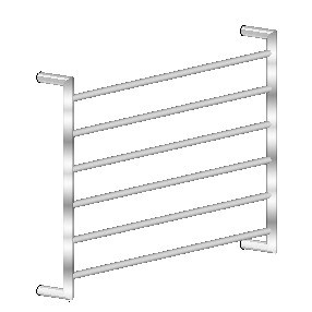 Avenir Heated Towel Ladder TLH1 60x90