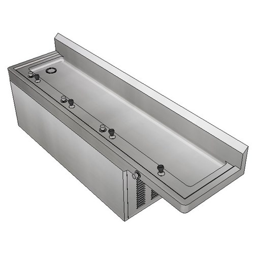 Britex Refrigerated Drinking Trough - Left Drain