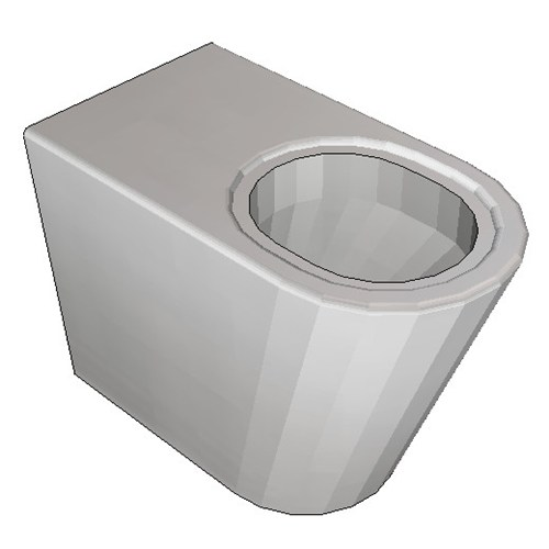 Britex Grandeur Disabled Pan (P Trap Ambulant)