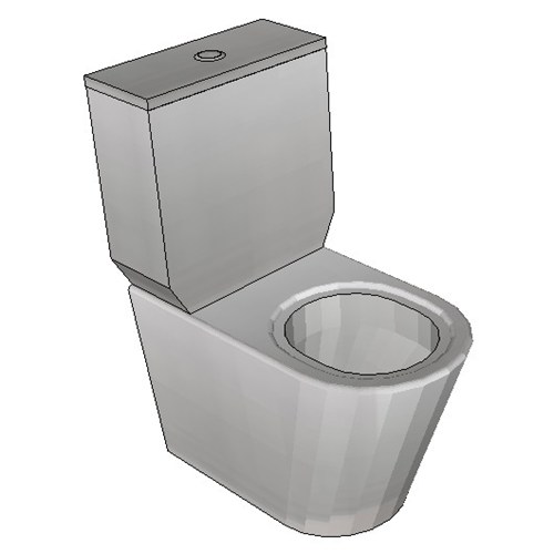 Britex Toilet Suite (P Trap Grandeur Pan)