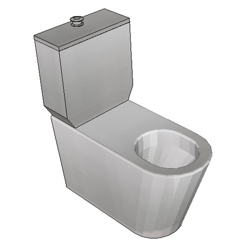 Britex Disabled Toilet Suite (S Trap Centurion Pan)