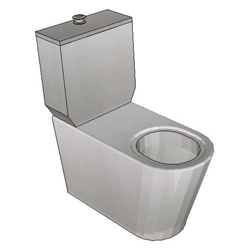 Britex Disabled Toilet Suite (P Trap Grandeur Pan)