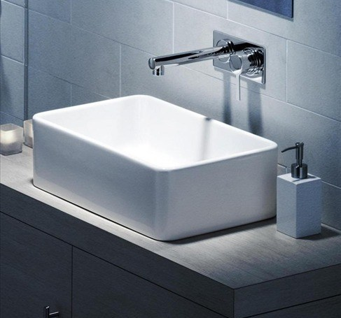 Caroma 20cube 20500 20above 20counter 20vanity 20basin.