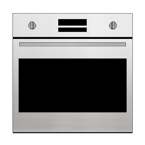 Kleenmaid Multifunction 60cm Analogue Push/Pull Knobs Oven