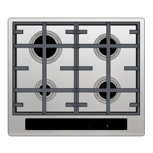 Kleenmaid Gas Cooktop 60cm Electronic Touch Panel