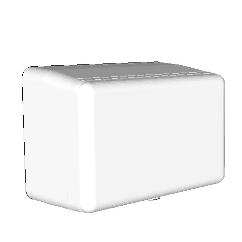 Britex EcoJet Auto Operation Hand Dryer (White Powder Coated)