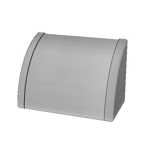 Britex Waterproof Auto Operation Hand Dryer (Stainless Steel End Panels)
