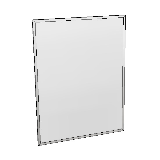 Britex Channel Frame Mirror (460 x 610)