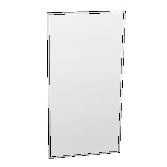 Britex Channel Frame Mirror (460 x 910)