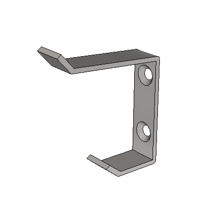 Britex Coat Hook (80mm Top/43mm Base)